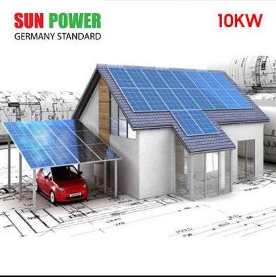 Điện năng lượng mặt trời hòa lưới 5kw