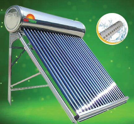 bình nước nóng năng lượng mặt trời loại nào tốt